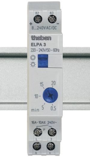 Theben 30002 Trappenhuisschakelaar analoog 1x NO 8 V DC/AC, 12 V DC/AC, 24 V DC/AC, 110 V DC/AC, 230 V DC/AC