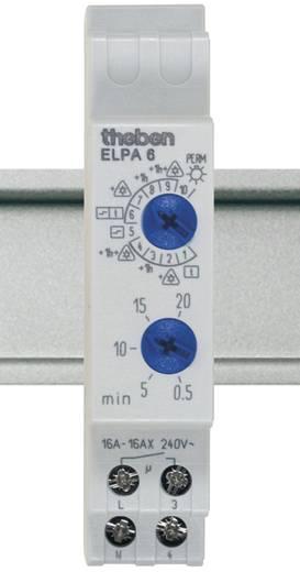 Trappenhuisschakelaar analoog 1x NO 230 V/AC Theben 60002