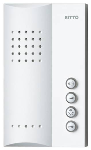 Ritto by Schneider 1723070 Binnenunit voor Deurintercom Kabelgebonden Wit