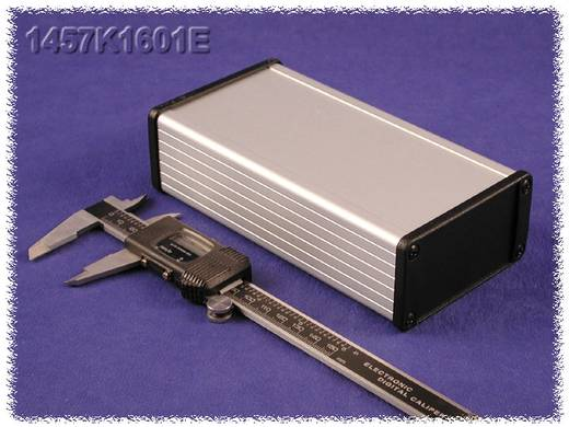 Hammond Electronics 1457KEP-10 Eindplaat Zonder flens (l x b x h) 5 x 84 x 44 mm Aluminium Zwart 10 stuks
