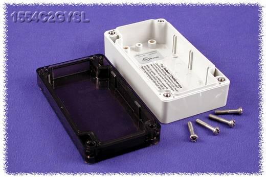 Hammond Electronics 1554C2GYSL Universele behuizing 120 x 65 x 40 Polycarbonaat Grijs 1 stuks