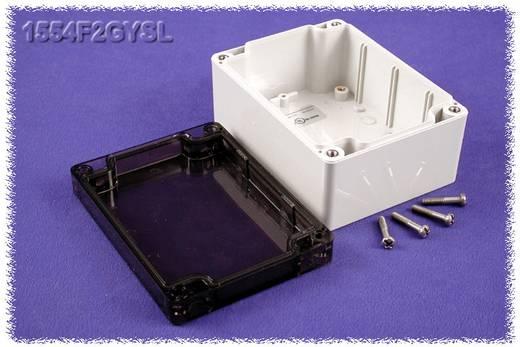 Hammond Electronics 1554F2GYSL Universele behuizing 120 x 90 x 60 Polycarbonaat Grijs 1 stuks