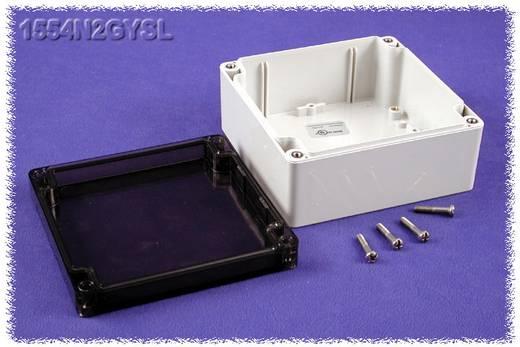 Hammond Electronics 1554N2GYSL Universele behuizing 120 x 120 x 60 Polycarbonaat Grijs 1 stuks
