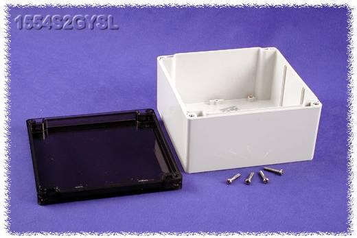Hammond Electronics 1554S2GYSL Universele behuizing 160 x 160 x 90 Polycarbonaat Grijs 1 stuks