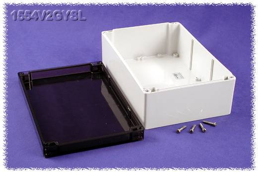 Hammond Electronics 1554V2GYSL Universele behuizing 240 x 160 x 90 Polycarbonaat Grijs 1 stuks