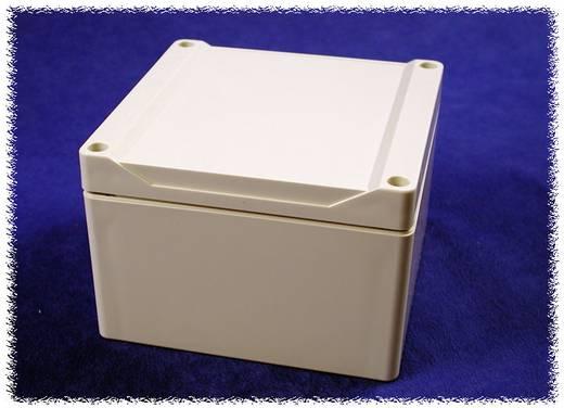 Hammond Electronics 1555P2GY Universele behuizing 120 x 120 x 80 Polycarbonaat Grijs 1 stuks
