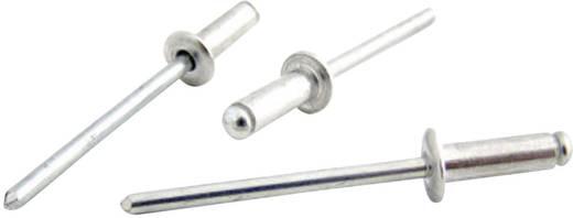 Bralo Blindklinknagel roestvrij staal/roestvrij staal platbolkop kleinverpakking 6 mm RVS/RVS 25 stuks