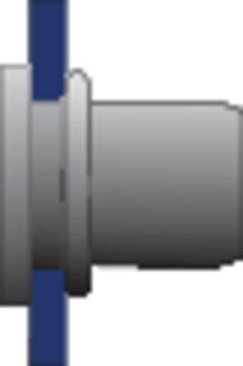 Bralo Klinknagelmoer aluminium platbolkop ronde schacht open 16.5 mm Aluminium 10 stuks