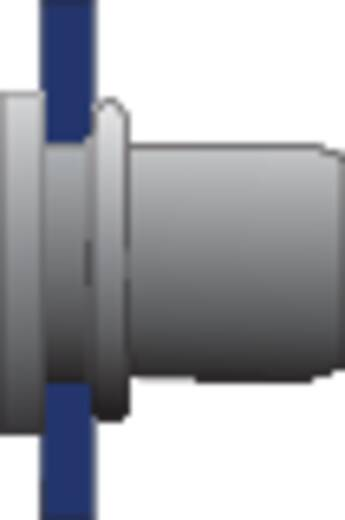 Bralo Klinknagelmoer aluminium platbolkop ronde schacht open 9.5 mm Aluminium 10 stuks