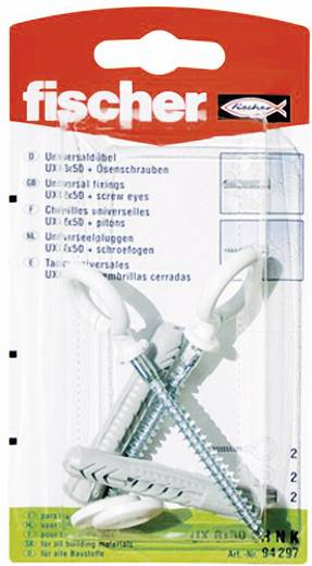 Universele ankers Fischer UX 8 x 50 OH N K 50 mm