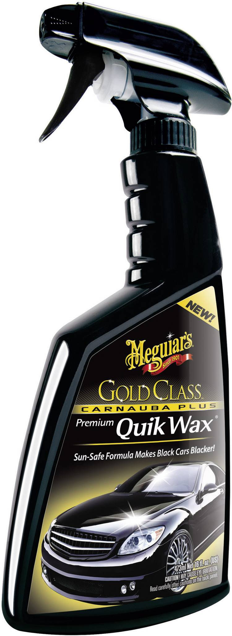 Image of Auto wax spray 473 ml Meguiars Gold Class Carnauba Plus Quik Wax G7716