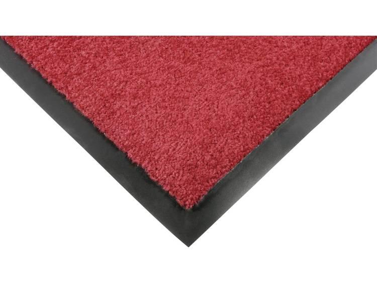 COBA Europe PP040003 Afloopmat Entra-Plush rood (l x b) 1.8 m x 1.2 m 1 stuks