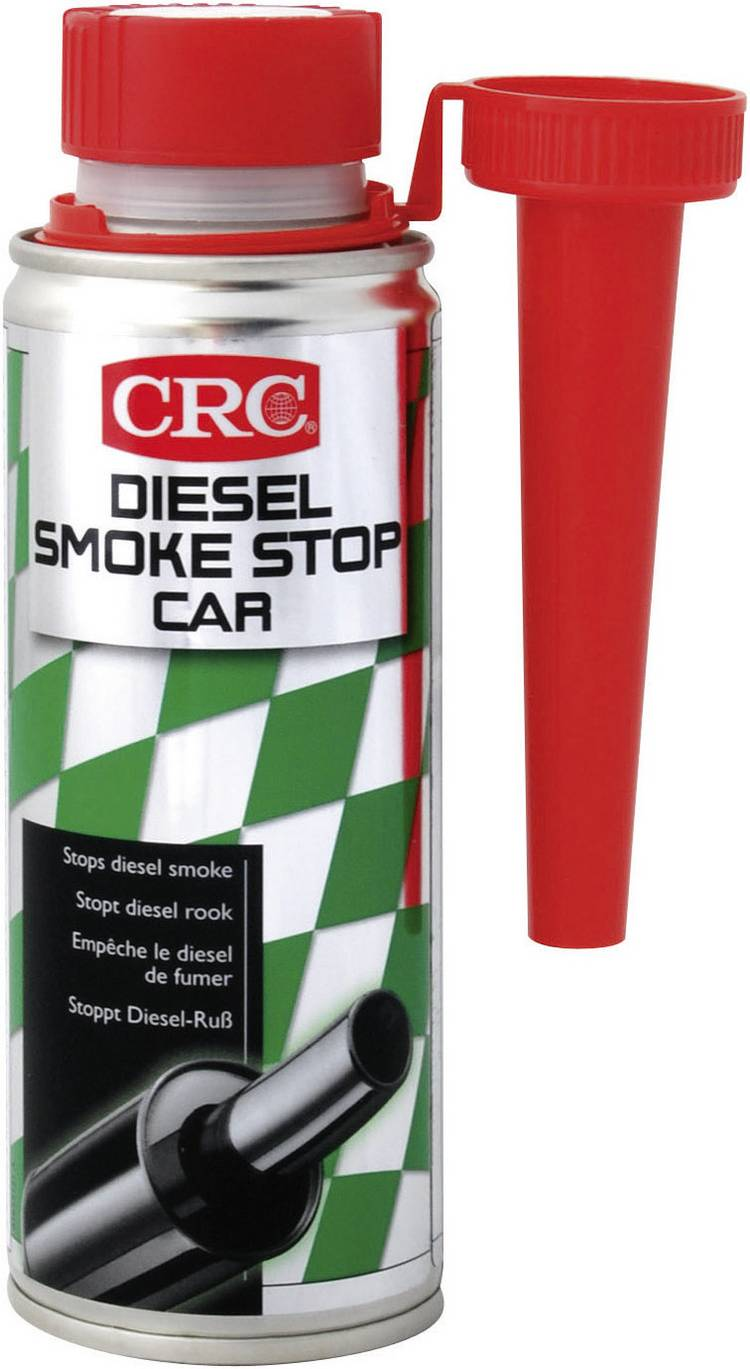 CRC DIESEL SMOKE STOP CAR 32028-AA DIESEL SMOKE STOP CAR antiroet voor autos 200 ml