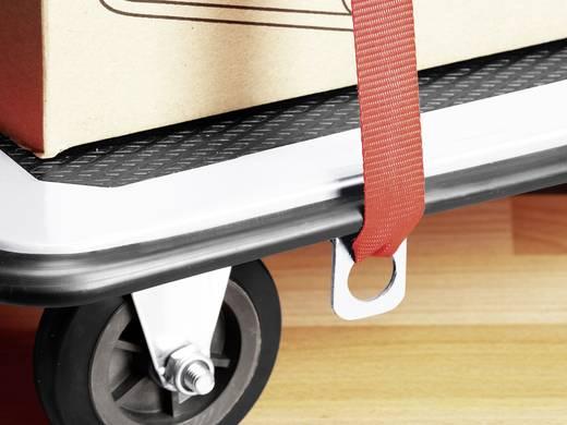 Meister Werkzeuge 8985540 Platformwagen Inklapbaar, Met opbergvak Staal Laadvermogen (max.): 300 kg