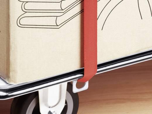 Meister Werkzeuge 8985620 Platformwagen Inklapbaar, Met opbergvak Staal Laadvermogen (max.): 150 kg