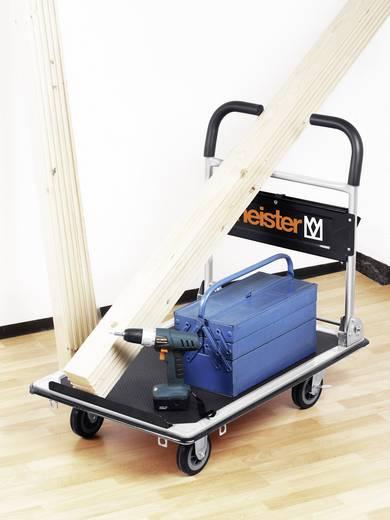 Meister Werkzeuge 8985630 8985630 Platformwagen Inklapbaar, Met opbergvak Staal Laadvermogen (max.): 300 kg
