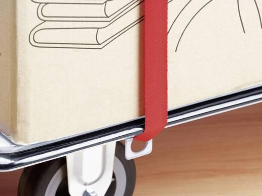 Meister Werkzeuge 8985630 Platformwagen Inklapbaar, Met opbergvak Staal Laadvermogen (max.): 300 kg