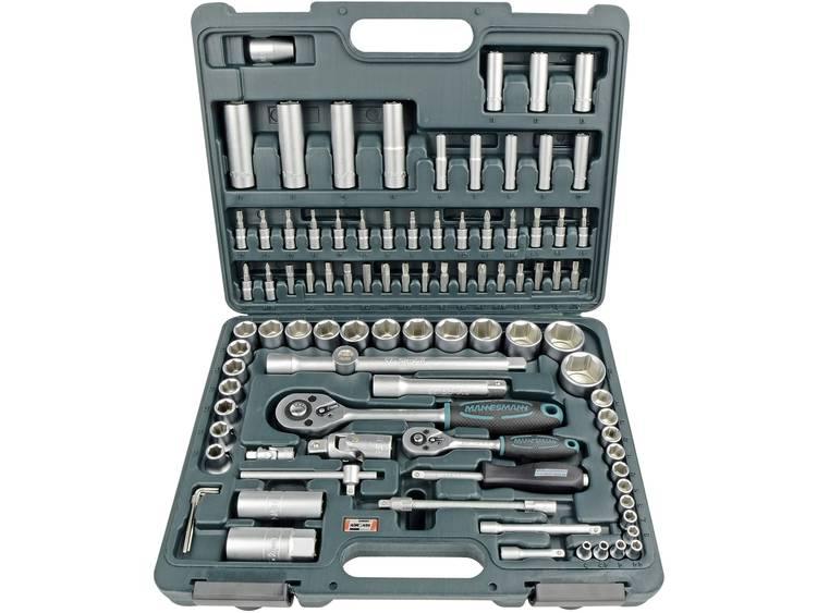 Brüder Mannesmann 94-delige dopsleutelset 6,3 mm (1-4) en 12,5 mm (1-2) M98410