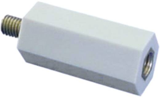 Isolatie afstandbouten (l) 20 mm M6x7 mm Polyester, Staal verzinkt 6S20 1 stuks
