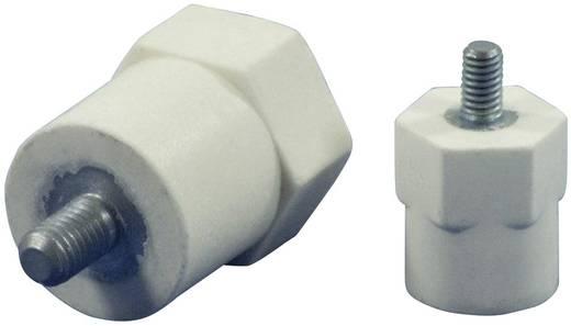 Isolatoren hexa (Ø x h) 21 mm x 26 mm M8 x 20 Polyester, Staal glasvezelversterkt, verzinkt HC21.26-HF8.08CM8.20 1 st