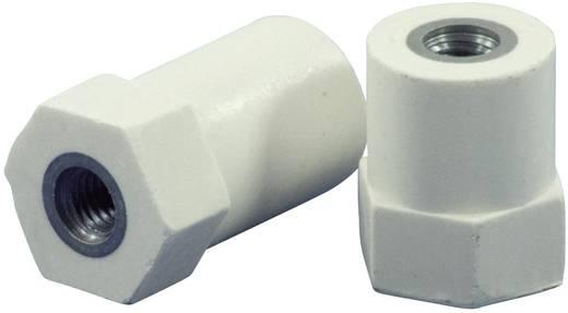 Isolatoren hexa (Ø x h) 21 mm x 35 mm M8x8 mm M8 x 20 Polyester, Staal glasvezelversterkt, verzinkt HC21.35-HF8.08CF8.0
