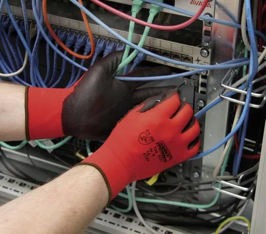 worky 1177 SKINNY PU superdunne fijn gebreide handschoen 100% nylon met PU-coating Maat 7