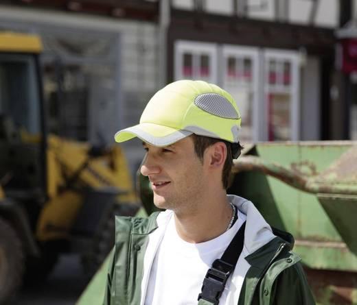 Voss Helme 2688 WORKCAP PRO met ABS-schaal en stoffen bekleding Waarschuwings-geel