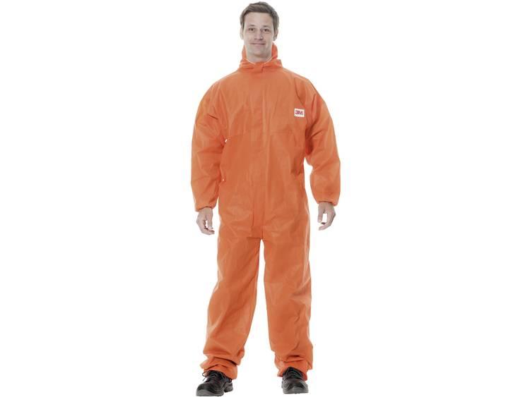Oranje wegwerp overall