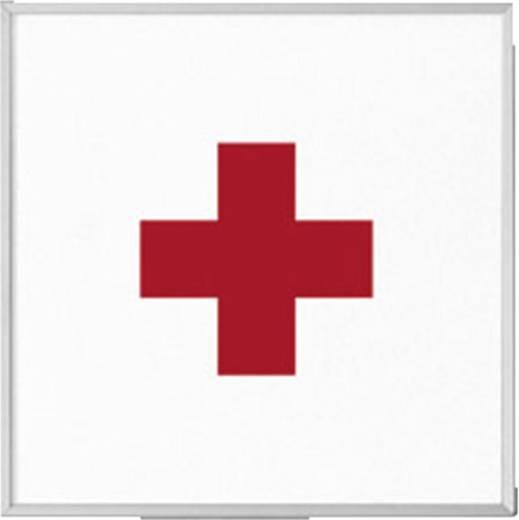 """Madrid deurbordje 120 met pictogram """"rood kruis"""" 120 mm x 120 mm"""