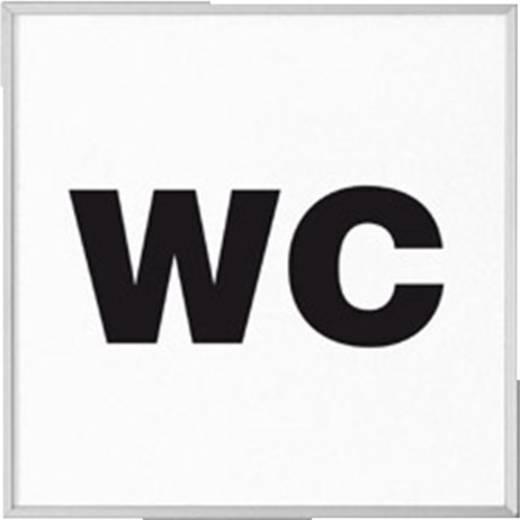 Moedel Madrid Deur Schid 120 met tekst WC I2520PWC (l x b) 120 mm x 120 mm 1