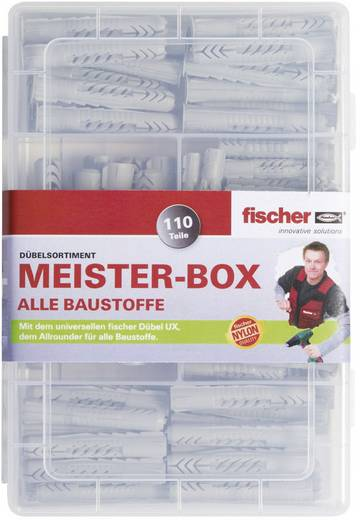 Plugassortiment Fischer Meister-Box UX/UX R