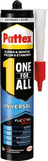 Pattex Kleben & Dichten One for All Montagelijm Kleur: Zwart 420 g