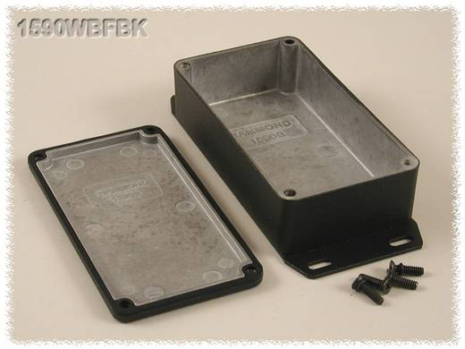 Hammond Electronics 1590WBFBK Universele behuizing 111.5 x 59.5 x 31 Aluminium Zwart 1 stuks