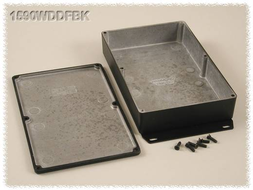 Hammond Electronics 1590WDDFBK Universele behuizing 187.5 x 119.5 x 37 Aluminium Zwart 1 stuks