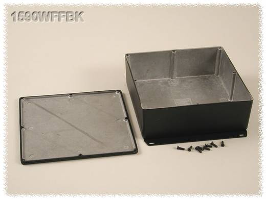 Hammond Electronics 1590WFFBK Universele behuizing 187.5 x 187.5 x 67 Aluminium Zwart 1 stuks