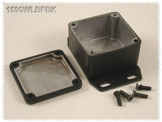 Hammond Electronics 1590WLBFBK Universele behuizing 50.5 x 50.5 x 31 Aluminium Zwart 1 stuks