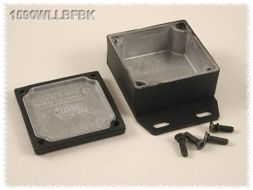 Hammond Electronics 1590WLLBFBK Universele behuizing 50 x 50 x 25 Aluminium Zwart 1 stuks