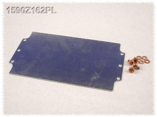 Hammond Electronics 1590Z162PL Eindplaat Plaatstaal Naturel 1 stuks