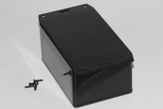 Hammond Electronics 1591TF2SBK Universele behuizing 120 x 80 x 59 ABS Zwart 1 stuks