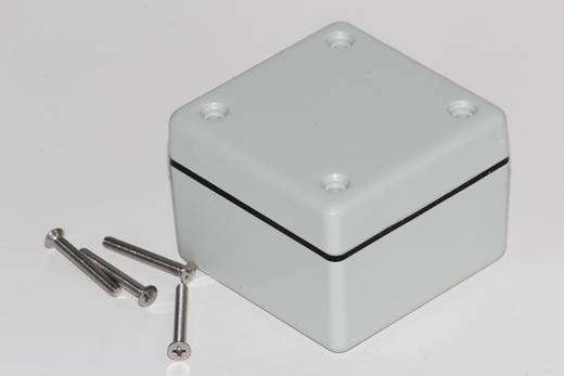 Hammond Electronics 1594AWGY Universele behuizing 56 x 56 x 40 ABS Grijs 1 stuks