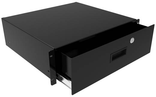 Hammond Electronics RDRW1900322BK1 Ladeblad (l x b x h) 89 x 483 x 559 mm Staal Zwart 1 stuks