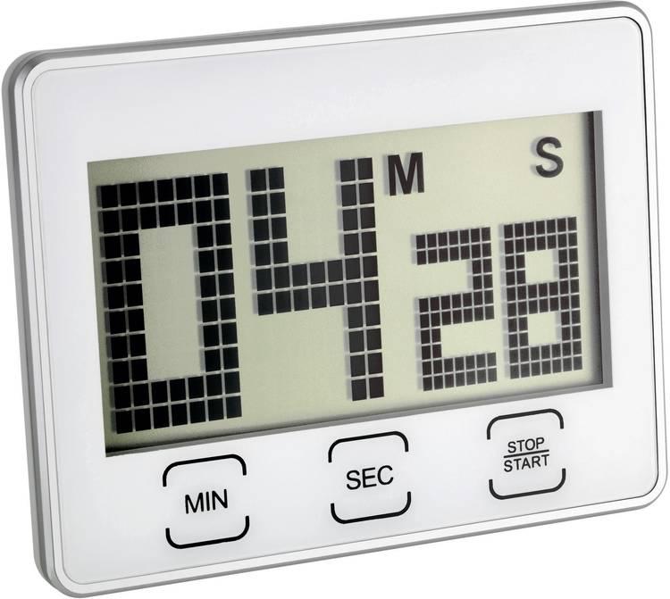 Timer TFA 38.2027 Zilver Digitaal