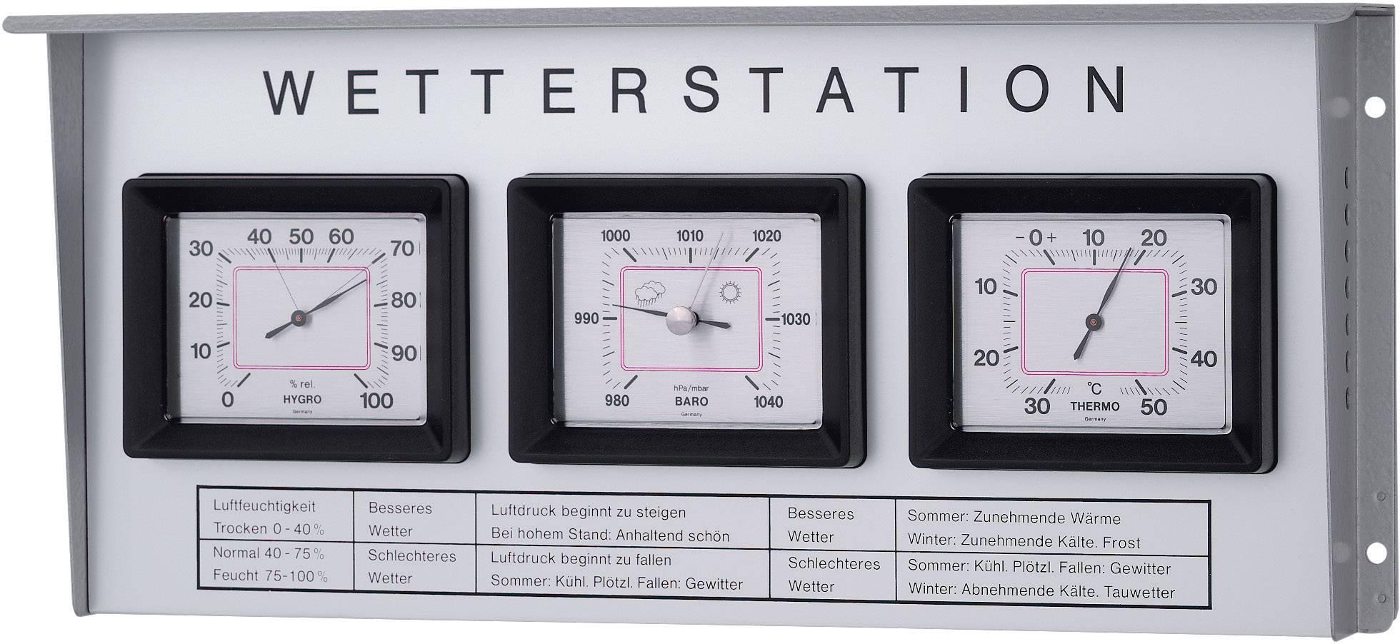 Conrad-TFA Dostmann  20.2019 Analoog weerstation Voorspelling voor 12 tot 24 uur-aanbieding