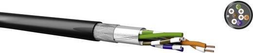 Kabeltronik 511826709 Netwerkkabel CAT 5e SF/UTP 4 x 2 x 0.13 mm² Zwart Per meter