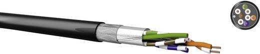 Netwerkkabel Kabeltronik 511826709 CAT 5e SF/UTP 4 x 2 x 0.13 mm² Zwart Per meter