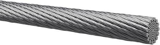 Kabeltronik 401010001 Draad 1 x 1 mm² Zilver Per meter