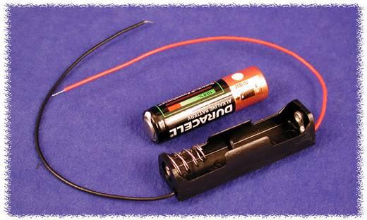 Hammond Electronics BH1AAW Batterijhouder 1x AA Kunststof Zwart 1 stuks