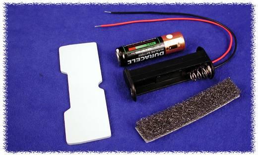 Hammond Electronics BH2AAW Batterijhouder 2x AA Kunststof Zwart 1 stuks