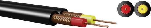 Kabeltronik 640200800 Diodekabel 2 x 0.08 mm² Zwart Per meter