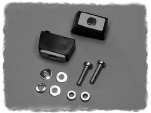 Hammond Electronics M797-24 Montage voet ABS Zwart (l x b x h) 16 x 14 x 27 mm 2 stuks